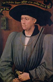 Portrait of Jean Lefevre de Saint-Remy von Rogier van der Weyden