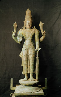 Vishnu, Late Chola by Indian School