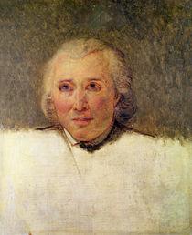 Portrait of Henri Gregoire study for the Tennis Court Oath von Jacques Louis David
