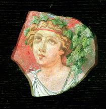 Head of a bacchante von Roman