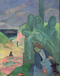 The Green Christ 1889 by Paul Gauguin