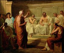 Sophocles Accused by his Sons von Fortune Joseph Seraphin Layraud