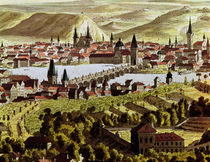 View of Prague by Austrian School