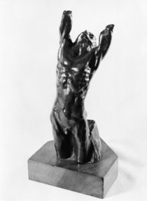 Desperate Adolescent, or Narcissus by Auguste Rodin