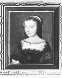 Anne de Pisseleu Duchess of Etampes by Corneille de Lyon