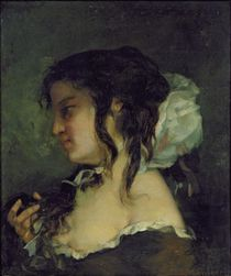 Reflection, c.1864-66 by Gustave Courbet