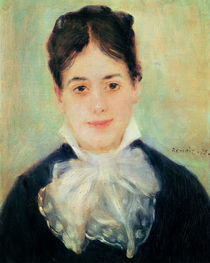 Woman Smiling, 1875 by Pierre-Auguste Renoir