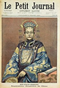 Tz'U-Hsi Empress Dowager of China von French School