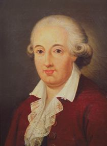 Portrait of Domenico Cimarosa von Italian School