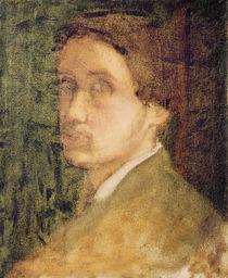 Self Portrait, c.1852 by Edgar Degas