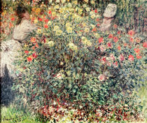 Women in the Flowers, 1875 by Claude Monet