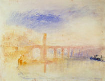 The Moselle Bridge, Coblenz von Joseph Mallord William Turner