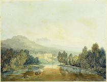 Villa Salviati on the Arno von Joseph Mallord William Turner
