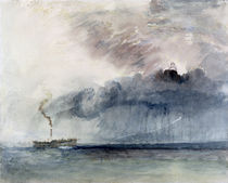 Steamboat in a Storm, c.1841 by Joseph Mallord William Turner
