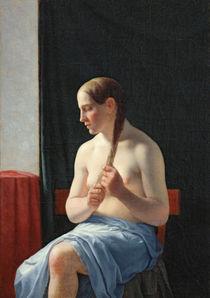 The Model, 1839 von Christoffer-Wilhelm Eckersberg