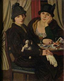 Women in a Cafe, c.1924 by Pietro Marussig