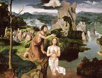 The Baptism of Christ, c.1515 by Joachim Patinir