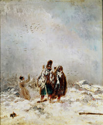 The Retreat from Russia by Nicolas Toussaint Charlet