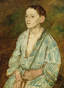 Portrait of a Boy by Eduard Karl Franz von Gebhardt