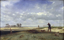 The Hunt, 1847 by Alexandre Gabriel Decamps