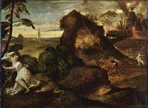 Orpheus and Eurydice von Titian