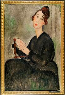 Portrait of Dedie Hayden, 1918 by Amedeo Modigliani