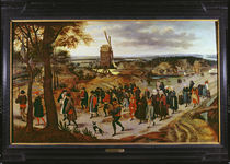 The Wedding Procession by Pieter Brueghel the Younger