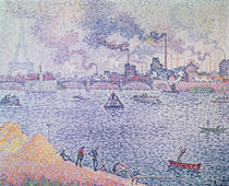 The Seine, Grenelle, 1899 von Paul Signac