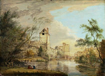 An Unfinished View of the West Gate von Paul Sandby