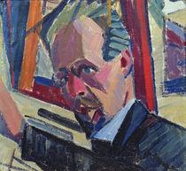 Self Portrait, 1913 by Alexander Bogomazov