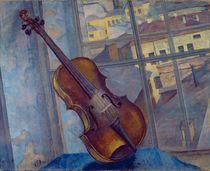 Violin, 1918 by Kuzma Sergeevich Petrov-Vodkin