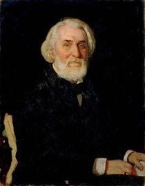 Portrait of Ivan S. Turgenev von Ilya Efimovich Repin