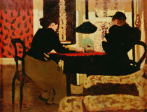 Women by Lamplight, 1892 by Edouard Vuillard