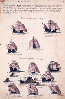 New Expedition to India in 1508 von Portuguese School