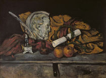 Still Life of the Artist's Accessories by Paul Cezanne