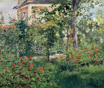 The Garden at Bellevue, 1880 by Edouard Manet