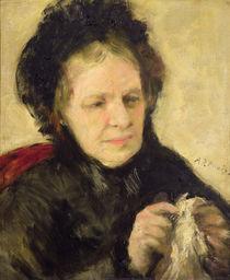 Madame Theodore Charpentier c.1869 by Pierre-Auguste Renoir