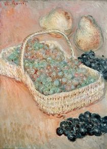 The Basket of Grapes, 1884 by Claude Monet