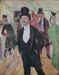 Monsieur Fourcade, 1889 by Henri de Toulouse-Lautrec