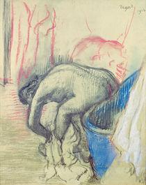 After the Bath, 1903 by Edgar Degas