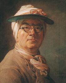 Self Portrait, 1775 by Jean-Baptiste Simeon Chardin