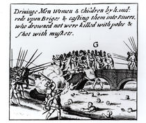 The Killing of Irish Protestants by Catholics in 1641 by English School