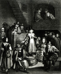 Quaker Meeting, 1699 by Marcellus or Marcel Lauron