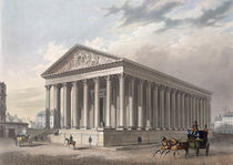 Exterior view of the Madeleine by Philippe Benoist