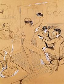 Chocolat Dancing, 1896 von Henri de Toulouse-Lautrec