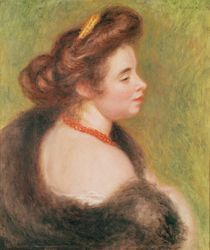 Portrait of Madame Maurice Denis by Pierre-Auguste Renoir