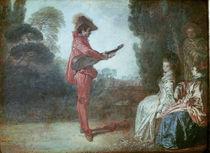 The Enchanter, c.1712 von Jean Antoine Watteau