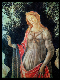 Primavera, detail of Venus by Sandro Botticelli
