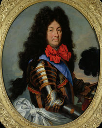 Portrait of Louis XIV by French School