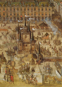 The Place Royale and the Carrousel in 1612 von French School